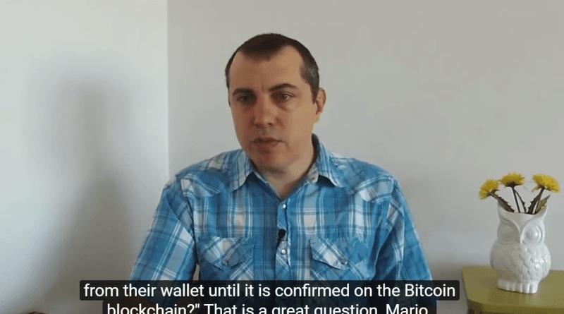 Bitcoin Q&A: Bitcoin transakcijas dzīves ciklu
