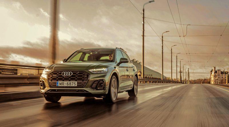 Audi pieprasītākais modelis – atjaunotais Audi Q5