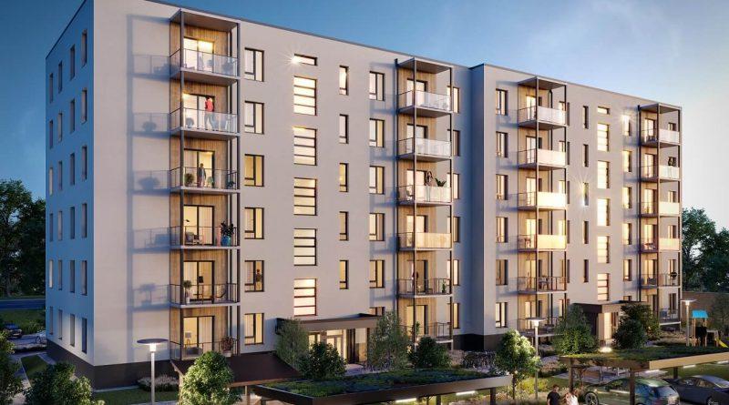 """""""Bonava Latvija"""" ekspluatācijā nodod pirmo ēku projektā """"Fjordi"""" Rīgas centrā"""