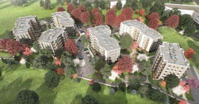 """Ekspluatācijā nodotas četras jaunas daudzdzīvokļu ēku projekta """"Trebū HOME"""" mājas"""