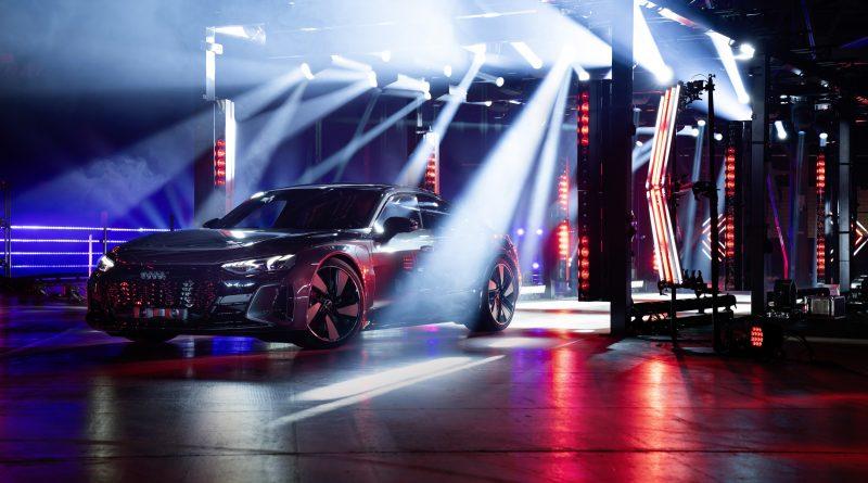Audi e-tron GT pasaules pirmizrāde