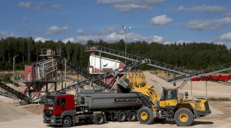 Minerālmateriālu ražotāja Saulkalne S apgrozījums palielinājies par 32%, sasniedzot rekordu – 10,1 miljonu eiro